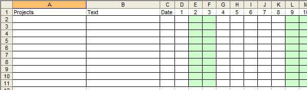 Excelkalender
