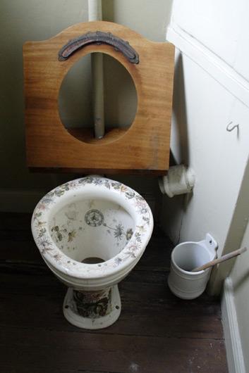 Toilet i Klunkehjemmet