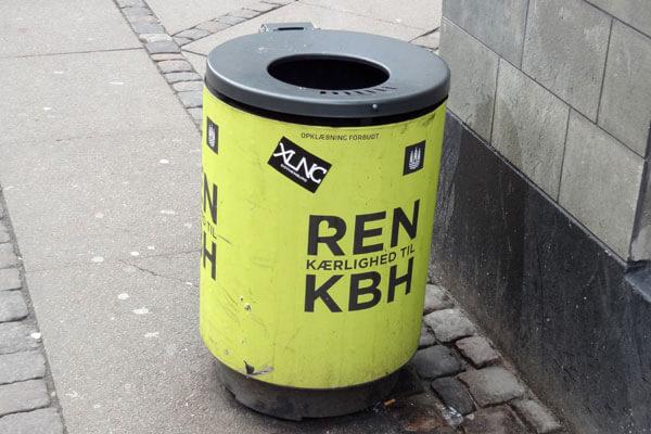 Dem er der mange af i København, og jeg tror, det virker.