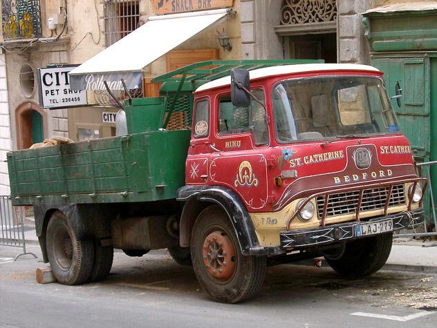Lastbil på Malta