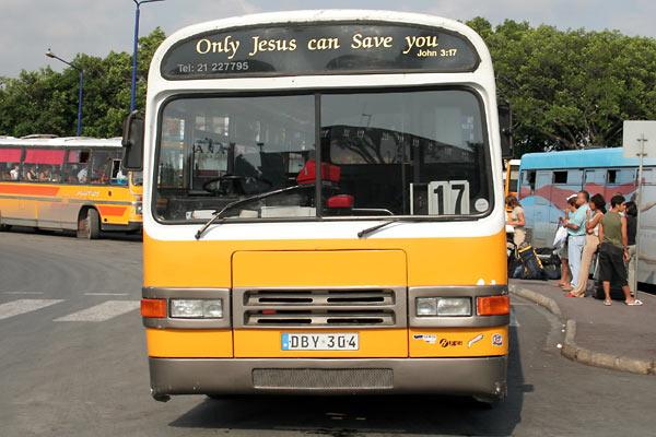 Bus på Malta