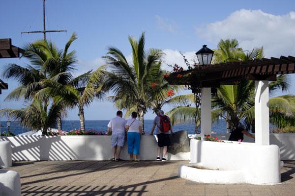 Fra promenaden i Puerto de la Cruz